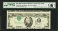 Error Notes:Inverted Third Printings, Fr. 2081-B $20 1995 Federal Reserve Note. PMG Gem Uncirculated 66EPQ.. ...