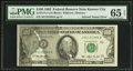 Error Notes:Ink Smears, Fr. 2174-J $100 1993 Federal Reserve Note. PMG Gem Uncirculated 65EPQ.. ...