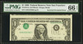Error Notes:Inverted Third Printings, Fr. 1914-L $1 1988 Federal Reserve Note. PMG Gem Uncirculated 66EPQ.. ...