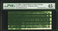 Error Notes:Ink Smears, Fr. 1915-G $1 1988A Federal Reserve Note. PMG Choice Extremely Fine45 EPQ.. ...