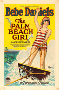 "Movie Posters:Romance, The Palm Beach Girl (Paramount, 1926). One Sheet (27"" X 41"").. ..."