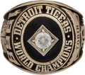 Baseball Collectibles:Others, 1968 Detroit Tigers World Series Championship Ring....