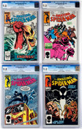 Modern Age (1980-Present):Superhero, The Amazing Spider-Man #251 and 253-255 Group (Marvel, 1984)Condition: CGC NM/MT 9.8.... (Total: 4 Comic Books)