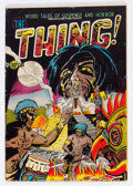 Golden Age (1938-1955):Horror, The Thing! #6 (Charlton, 1953) Condition: GD+....