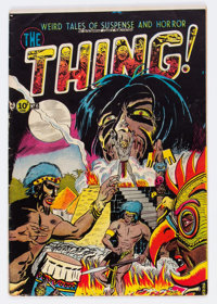 The Thing! #6 (Charlton, 1953) Condition: GD+