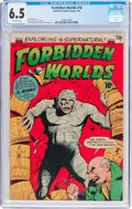 Golden Age (1938-1955):Horror, Forbidden Worlds #18 (ACG, 1953) CGC FN+ 6.5 Off-white pages....