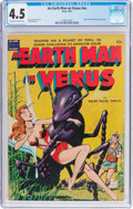Golden Age (1938-1955):Science Fiction, Earth Man on Venus #nn (Avon, 1951) CGC VG+ 4.5 Off-white to whitepages....