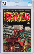 Golden Age (1938-1955):Horror, The Beyond #13 (Ace, 1952) CGC VF- 7.5 Cream to off-white pages....