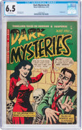 Golden Age (1938-1955):Horror, Dark Mysteries #6 (Master Publications, 1952) CGC FN+ 6.5 Off-whitepages....
