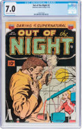Golden Age (1938-1955):Horror, Out of the Night #3 (ACG, 1952) CGC FN/VF 7.0 Off-white to whitepages....