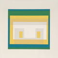 Prints:Contemporary, Josef Albers (1888-1976). Variant II from TenVariants, 1966. Silkscreen in colors. 11 x 11-3/8 inches (27.9x 28.9 ...