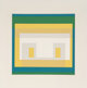 Josef Albers (1888-1976) Variant II from Ten Variants, 1966 Silkscreen in colors 11 x 11-3/8 inches (27.9 x 28.9