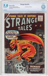 Strange Tales #74 (Marvel, 1960) CBCS VG/FN 5.0 Off-white to white pages