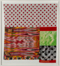 Post-War & Contemporary:Contemporary, Robert Rauschenberg (1925-2008). Samarkand Stitches #VII,1988. Screenprint with mixed media. 48 x 43 inches (121.9 x 10...