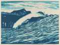 Prints:Contemporary, Shepard Fairey X Craig Stecyk III. P.O.P Wave (Blue), 2016.Screenprint in colors. 17 x 23 inches (43.2 x 58.4 cm) (imag...