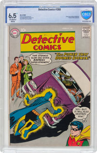 Detective Comics #268 (DC, 1959) CBCS FN+ 6.5 Off-white to white pages