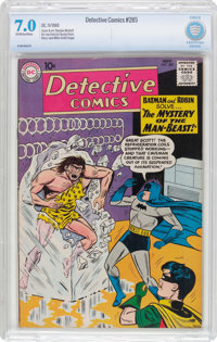 Detective Comics #285 (DC, 1960) CBCS FN/VF 7.0 Off-white to white pages