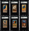 "Non-Sport Cards:Sets, 1888 N17 Allen & Ginter ""Naval Flags"" Partial Set (33/50). ..."