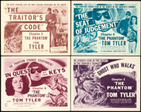 "The Phantom (Columbia, 1943). Title Lobby Cards (4) (11"" X 14""). ... (Total: 4 Items)"
