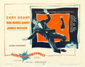 """Movie Posters:Hitchcock, North by Northwest (MGM, 1959). Half Sheet (22"""" X 28"""") Style A.. ..."""