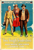 "Movie Posters:Comedy, Two Tough Tenderfeet (Paramount, 1918). One Sheet (28"" X 41"").. ..."