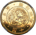 Japan, Japan: Meiji gold Proof 10 Yen Year 4 (1871) PR66 Cameo NGC,...
