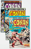 Bronze Age (1970-1979):Adventure, Conan the Barbarian Group of 34 (Marvel, 1975-84) Condition: Average VF/NM.... (Total: 34 Comic Books)