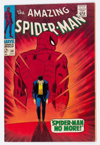 The Amazing Spider-Man #50 (Marvel, 1967) Condition: Apparent VF