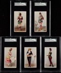 "Non-Sport Cards:Lots, 1890's Duke N129, N130, N131, N132 ""Stars of The Stage"" Collection(43). ..."