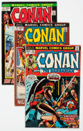 Bronze Age (1970-1979):Adventure, Conan the Barbarian Group of 46 (Marvel, 1972-84) Condition: Average VG.... (Total: 46 Comic Books)