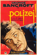 "Movie Posters:Crime, The Drag Net (Paramount, 1929). Pre-War German A0 (37.75"" X 56"")....."