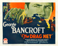 "Movie Posters:Crime, The Drag Net (Paramount, 1928). Half Sheet (22"" X 28"") Style A....."