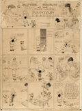 Original Comic Art:Comic Strip Art, Richard F. Outcault Buster Brown Sunday Comic Strip OriginalArt dated 5-31-03 (New York Herald, 1903)....