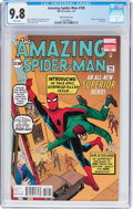 Modern Age (1980-Present):Superhero, The Amazing Spider-Man #700 Ditko Variant Cover (Marvel, 2013) CGCNM/MT 9.8 White pages....