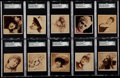 "Non-Sport Cards:Lots, 1890 N152 Duke ""Photographs From Life"" SGC-Graded Collection (25)...."