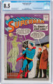 Superman #129 (DC, 1959) CGC VF+ 8.5 Off-white to white pages