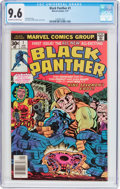 Bronze Age (1970-1979):Superhero, Black Panther #1 (Marvel, 1977) CGC NM+ 9.6 Off-white to white pages....