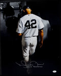 "Autographs:Photos, Mariano Rivera Signed Oversized Photograph - ""Exit Sandman""Inscription. ..."