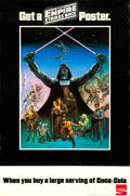 "Movie Posters:Science Fiction, The Empire Strikes Back (Lucasfilm, 1980). Coca-Cola Promo Poster(27"" X 41"") Boris Vallejo Artwork.. ..."