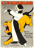 "Movie Posters:Comedy, Croquette (Fribergs Filmbyrå, 1928). Swedish One Sheet (28"" X39.5"").. ..."