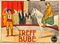 "Movie Posters:Foreign, Treff Bube (Lethal Shot) (Vitascope, 1913). German A00 (43"" X58.5"").. ..."