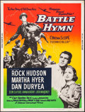 "Movie Posters:War, Battle Hymn & Other Lot (Universal International, 1957).Posters (2) (30"" X 40"") Style Y. War.. ... (Total: 2 Items)"