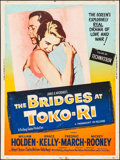 "Movie Posters:War, The Bridges at Toko-Ri & Other Lot (Paramount, R-1959). Posters(2) (30"" X 40""). War.. ... (Total: 2 Items)"