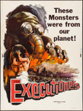 """Movie Posters:Documentary, The Executioners & Others Lot (Vitalite Films, 1959). Posters (3) (30"""" X 40""""). Documentary.. ... (Total: 3 Items)"""