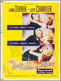 """Movie Posters:Drama, The Lady Takes a Flyer (Universal International, 1958). Poster (30"""" X 40"""") Style Y. Drama.. ..."""