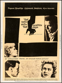 """The Man with the Golden Arm (United Artists, R-1960). Poster (30"""" X 40""""). Drama"""