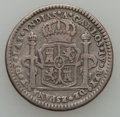 Mexico, Mexico: Mexico City. Charles IV 1 Real size silver ProclamationMedal 1789 About VF,...