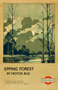 "Movie Posters:Miscellaneous, Ashtead and Epping Forests (General, 1921). Travel Posters (2)(20.5"" X 28.5"") Walter E. Spradbery Artwork.. ... (Total: 2 Items)"