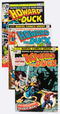 Bronze Age (1970-1979):Humor, Howard the Duck Group of 28 (Marvel, 1976-86) Condition: AverageVG.... (Total: 28 Comic Books)