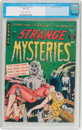 Golden Age (1938-1955):Horror, Strange Mysteries #1 (Superior Comics, 1951) CGC VF- 7.5 Cream tooff-white pages....